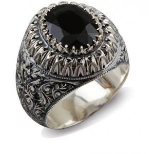 Nurullah Daştan Usta Avusturalya Safiri Özel Kalem İşi Gümüş Yüzük