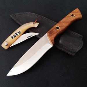 Bushcraft Model Doğa ve Avcı Kamp Bıçağı