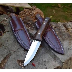 Buschcraft Doğa ve Av Bıçağı (Çok Şık Kılıf Hediyeli)
