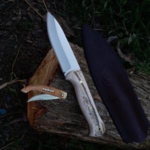 Geyik Boynuz Kabzeli Doğa ve Av Bıçağı