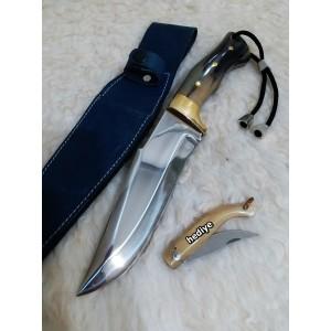 Kemik Saplı Avcı Bıçağı