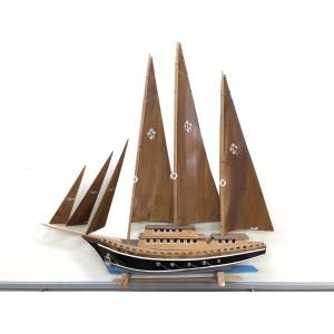 Yelkenli Maket Gemi