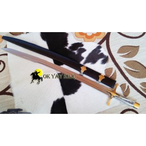 Fatih Kılıcı-Geyik Boynuzu Kabzeli Türk Kılıcı